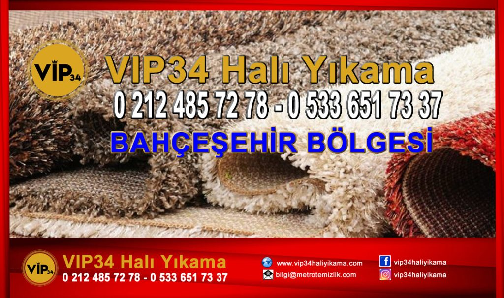 Vip34 Halı Yıkama Bahçeşehir